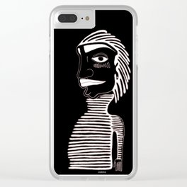 LINE GUY Clear iPhone Case