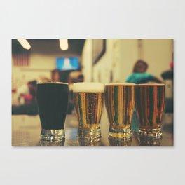 Beer Flight #2 Canvas Print