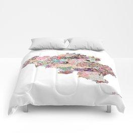 Belgium map Comforters