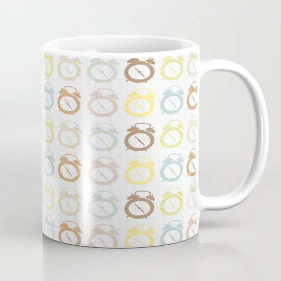 clocks pattern Mug