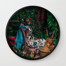 Immmy & Mwasiti Wall Clock