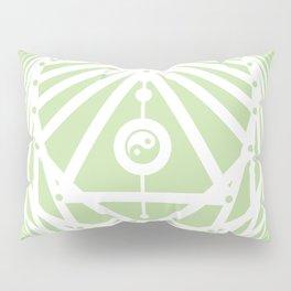 Radiant Abundance (light green-white) Pillow Sham