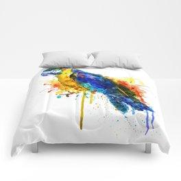 Parrot Watercolor Comforters