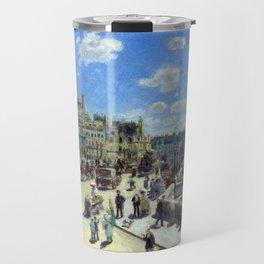 Auguste Renoir Pont Neuf, Paris Travel Mug