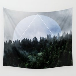 Foggy Woods 3X Wall Tapestry