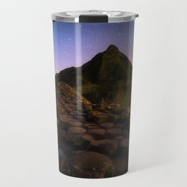 The Giants Causeway with the stars | Print (RR 269) Travel Mug