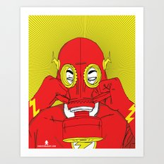 Unmask The : Flash Art Print