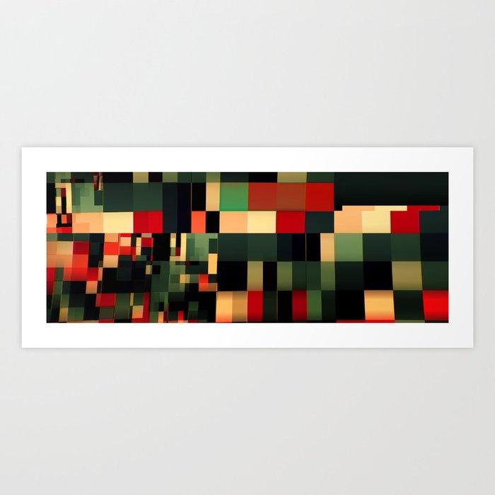 Patchwork VII Art Print