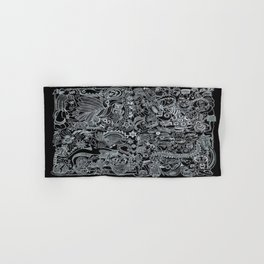 Ancient Figures II Hand & Bath Towel