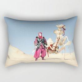 the dromedary Rectangular Pillow