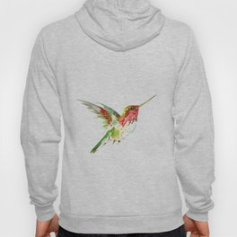 Hummingbird flying bird decor Hoody