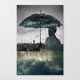 rainy day dreams Canvas Print