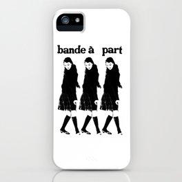 BAND A PART - ANNA KARINA / JEAN LUC GODARD- NOUVELLE VAGUE iPhone Case