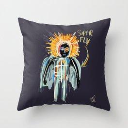 Super Fly Throw Pillow