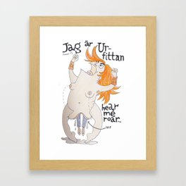 Urfittan Framed Art Print