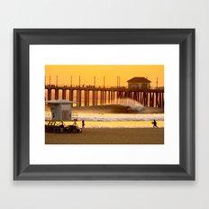Huntington Framed Art Print