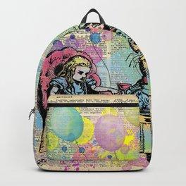 Tea Party Celebration - Alice In Wonderland Backpack