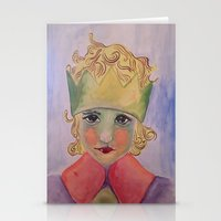 le petit prince Stationery Cards featuring le petit prince by aycaemir