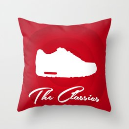 Nike Air Max: The Classics Throw Pillow