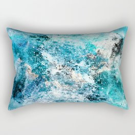 Water's Dance Rectangular Pillow