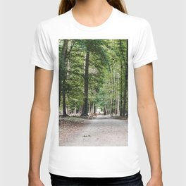 Surprise encounter with deers at the forest in Germany T-shirt