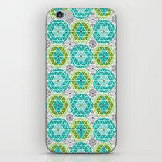 Geodome - Green iPhone & iPod Skin
