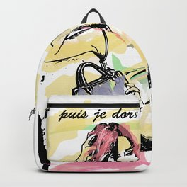 Puis je dors Backpack