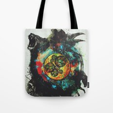 Circle of Life Surreal Study Tote Bag