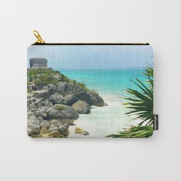 Ruins + Cliffs of Tulum Carry-All Pouch