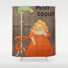 Vintage poster - Le Petit Coquin Shower Curtain