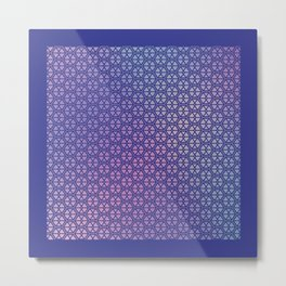 Pattern 010: Ambicube Metal Print