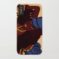 coco iPhone & iPod Cases featuring Coco by Courtney Ladybug Johnson