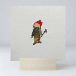 Toddies Winter Snow Days Toddler Skier Boarder Mini Art Print