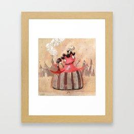 Marie Grenouille Framed Art Print