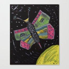 Squareland -squatterfly Canvas Print