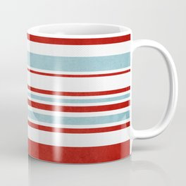 Christmas Stripes Coffee Mug
