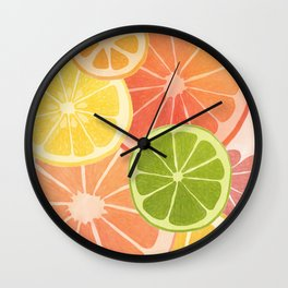 Citrus II Wall Clock
