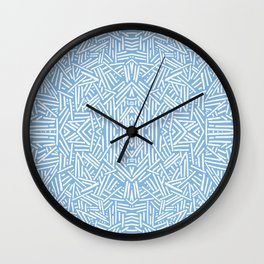 Radiate - Placid Blue Wall Clock