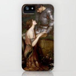 Lamia - John William Waterhouse iPhone Case