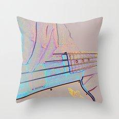 Bass-ics Throw Pillow