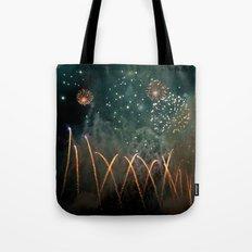 Fireworks Face Tote Bag