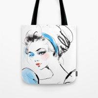 cinderella Tote Bags featuring Cinderella  by emametlo