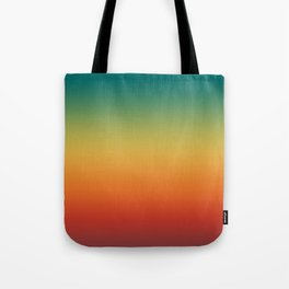Colorful Trendy Gradient Pattern Tote Bag