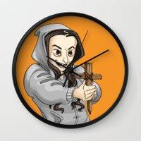 oitnb Wall Clocks featuring Pennsatucky Tiffany Doggett OITNB by StephDere