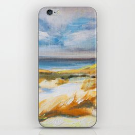 The Dunes in Ostend iPhone Skin