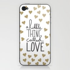 A Little Thing Called Love iPhone & iPod Skin