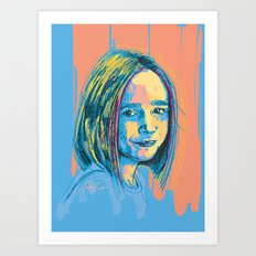 Digital Drawing 36 Art Print