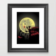 300 Ewoks Framed Art Print