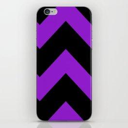 Purple Chevron iPhone Skin