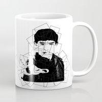 merlin Mugs featuring Print Merlin by MeMRB